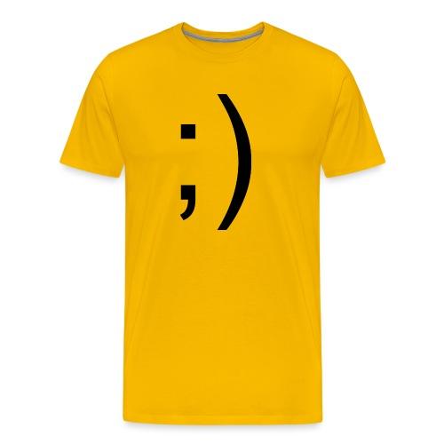 Wink Wink Smile - Men's Premium T-Shirt
