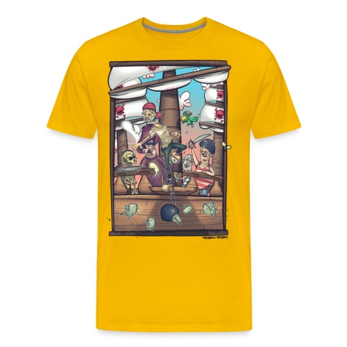 les pirates - T-shirt Premium Homme