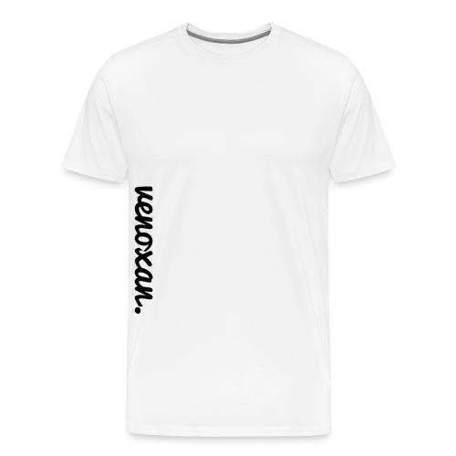 venoxan T-Shirt mit Schriftzug an der Seite - Men's Premium T-Shirt
