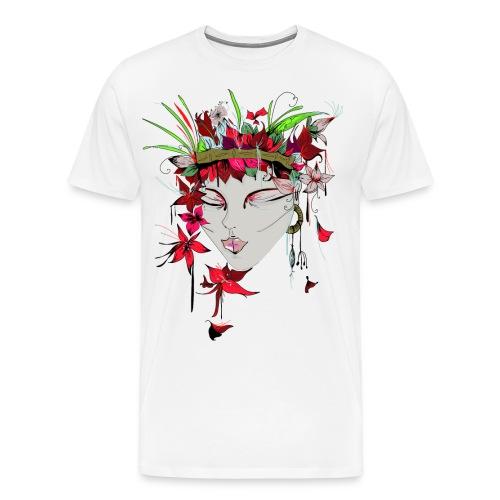 Margret Marincolo Blumenmädchen - Männer Premium T-Shirt