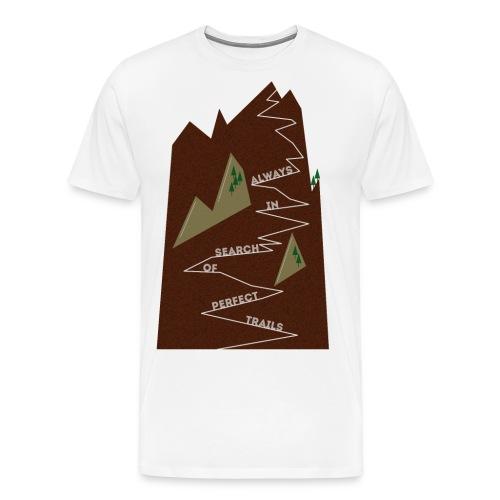 Trails • Trail • Singletrail II - Männer Premium T-Shirt
