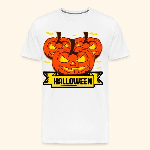 Kürbisköpfe für Halloween - super als Geschenk - Männer Premium T-Shirt