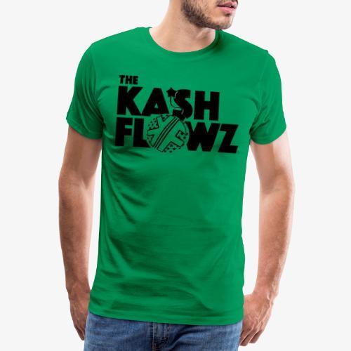 The Kash Flowz Official Bomb Black - T-shirt Premium Homme