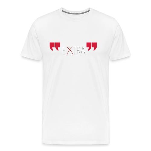 logo extra - Maglietta Premium da uomo