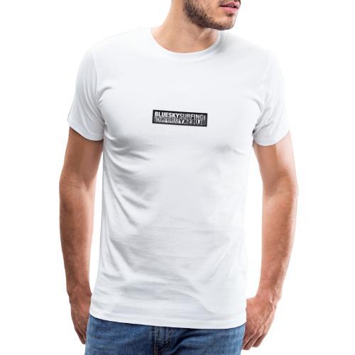 BlueSkySurfing.com - Männer Premium T-Shirt