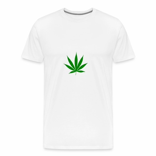 Feuille de weed - T-shirt Premium Homme