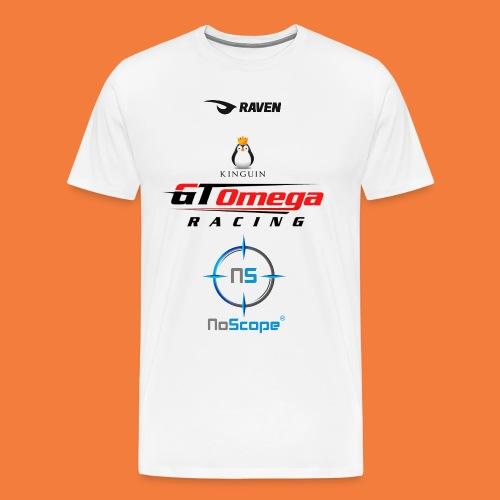 NoScope Logo Vertical png - Men's Premium T-Shirt