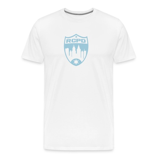 Rising Cities Police Department Logo - Männer Premium T-Shirt