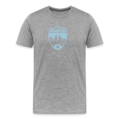 Rising Cities Police Department Logo - Männer Premium T-Shirt