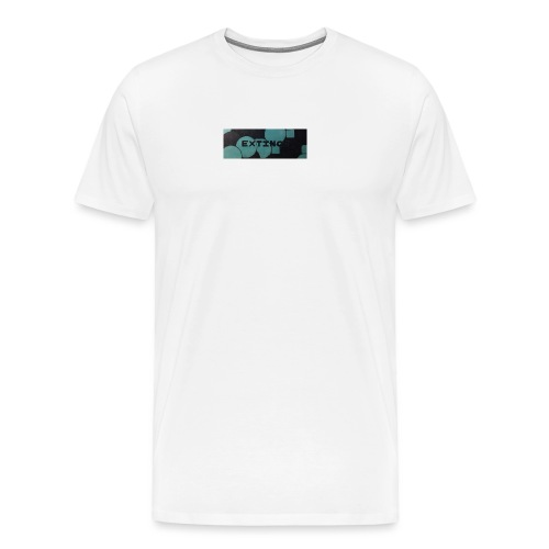 Extinct box logo - Men's Premium T-Shirt