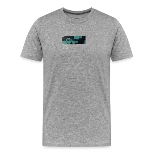 Extinct box logo - Men's Premium T-Shirt