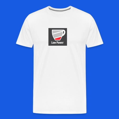 Low power need refill - Herre premium T-shirt