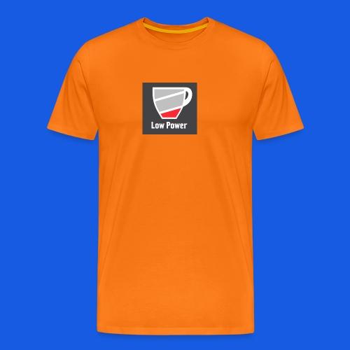 Low power need refill - Herre premium T-shirt
