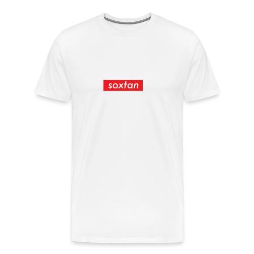 SOXTAN BOX LOGO - Men's Premium T-Shirt