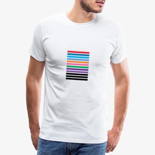 Lines - Maglietta Premium da uomo