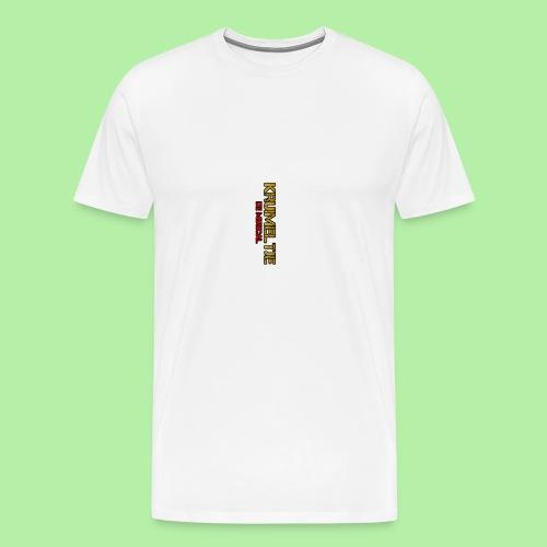 Hoesje I-phone 6/6s Kruimeltje de Musical - Mannen Premium T-shirt