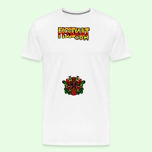 pisselogo - Premium T-skjorte for menn