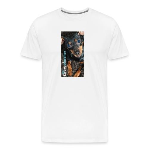 derzwergpinscher chocolate jpg - Männer Premium T-Shirt