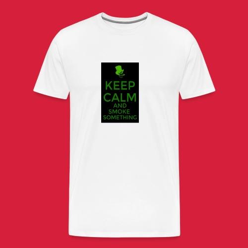 smoke something shirt - Mannen Premium T-shirt