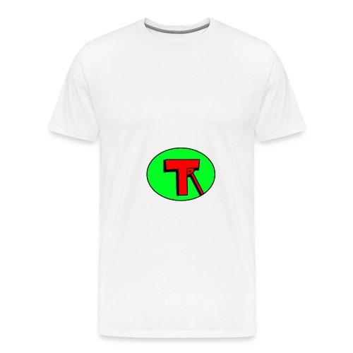tr logo png - Men's Premium T-Shirt