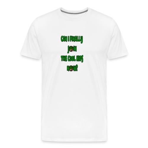 Cool Kids White T-Shirt - Men's Premium T-Shirt