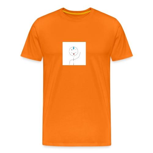 avatar stick man cover 6/6s - Herre premium T-shirt