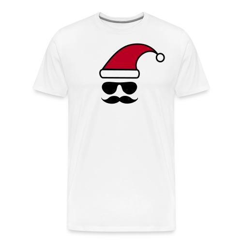 Weihnachtshipster - Männer Premium T-Shirt