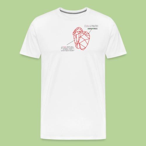 PeperoneCol - Maglietta Premium da uomo