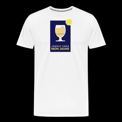 Jamais sans mon jaune - T-shirt Premium Homme