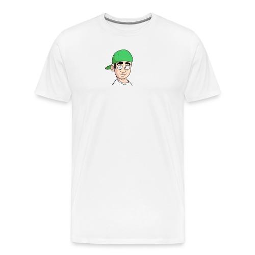 Pondern derp3 png - Premium T-skjorte for menn