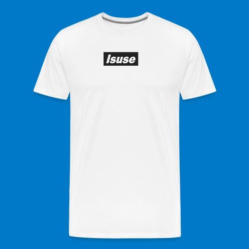 box logo black isuse - Camiseta premium hombre