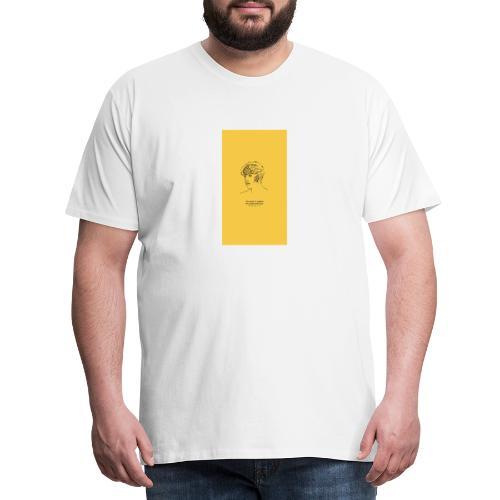 Yellow Boy Art - Men's Premium T-Shirt