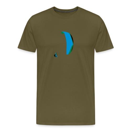 Akrobatik Paragliding - Men's Premium T-Shirt