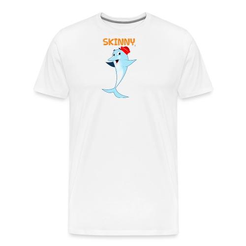 SKINNY - Maglietta Premium da uomo