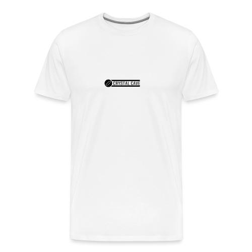 logo testo nero - Maglietta Premium da uomo