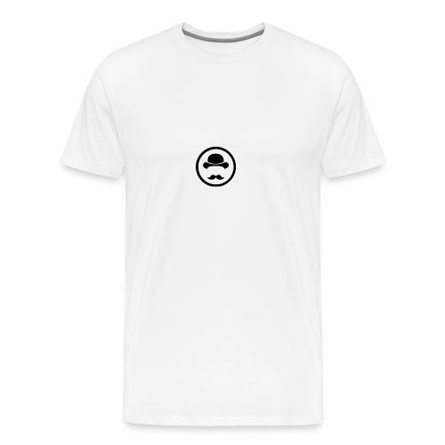 Bigote Logo La Trompa - Camiseta premium hombre
