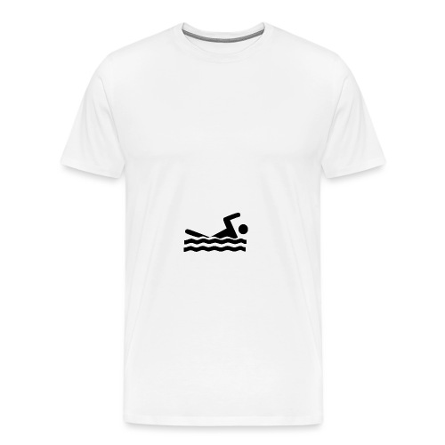 swimmer 297723 960 720FTU png - Men's Premium T-Shirt