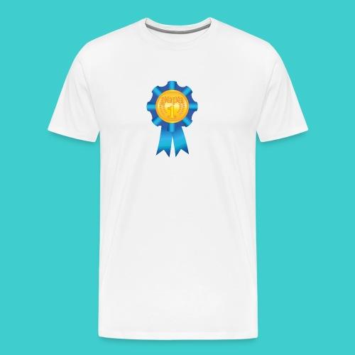 Papa Medaille - Mannen Premium T-shirt