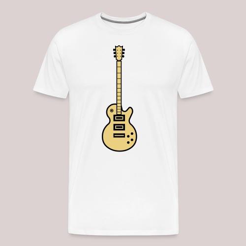22-30 Guitar Gibson Les Paul - Männer Premium T-Shirt