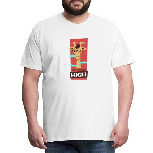 naturally high - Männer Premium T-Shirt