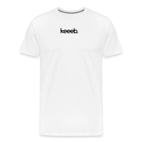 Männer T-shirt mit dem Logo von Keeeb - Männer Premium T-Shirt