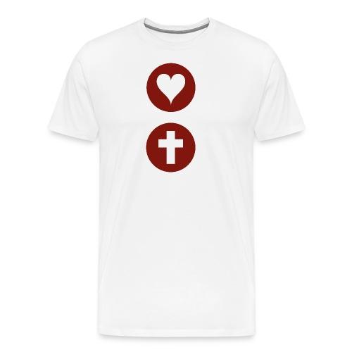 Heart Icon - Men's Premium T-Shirt