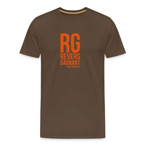 rg revers gagnant - T-shirt Premium Homme