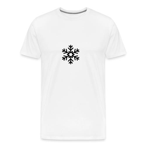 snowflake144_-1--png - Camiseta premium hombre