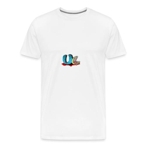 unclean comm logo transparent - T-shirt Premium Homme