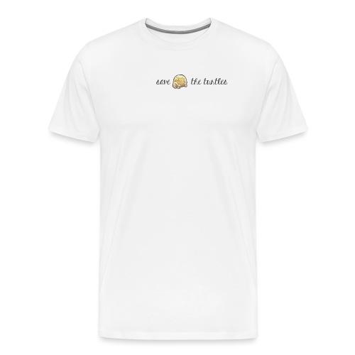 Save the turtles - Männer Premium T-Shirt