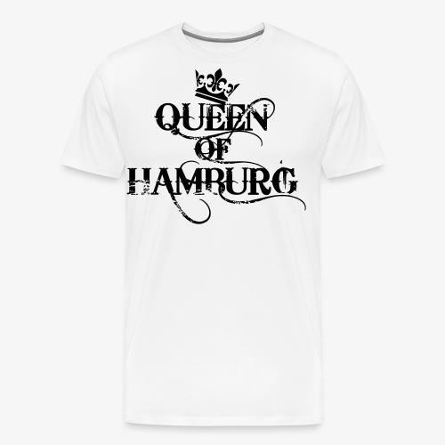41 Queen of Hamburg Krone Kiez Königin - Männer Premium T-Shirt