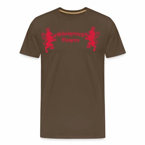Koenigreich Bayern gekrönte Loewen 1c - Männer Premium T-Shirt