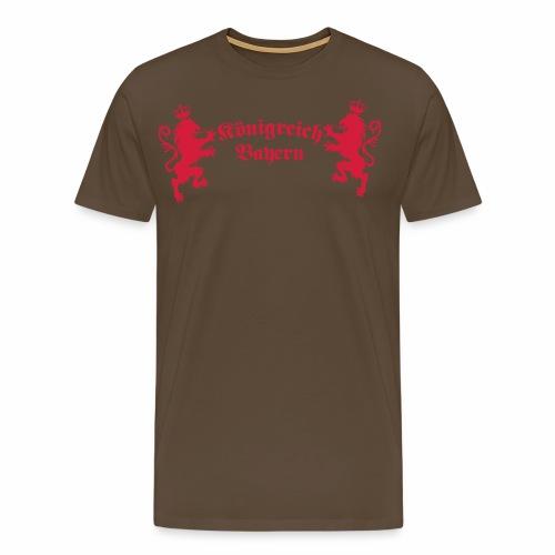 Königreich Bayern Loewen Koenigreich München 1c - Männer Premium T-Shirt