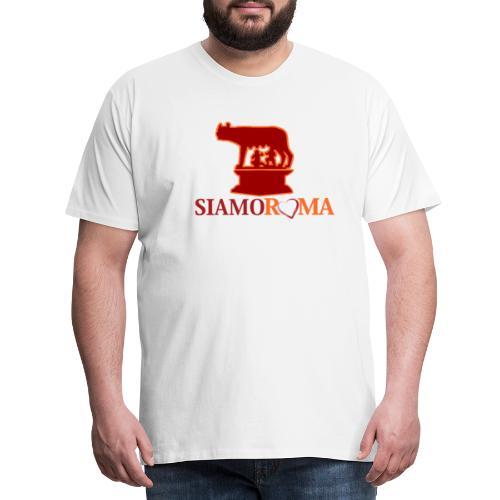 siamo roma 2 - Maglietta Premium da uomo